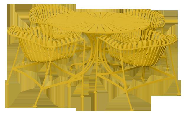 Mustard-Set