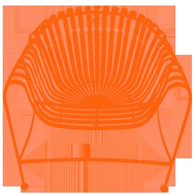 Orange-Chair-Small