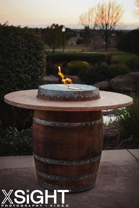 Costco Fire Pit Table Wine Barrel Fire Pits- Sonoma County Fire Pits:.
