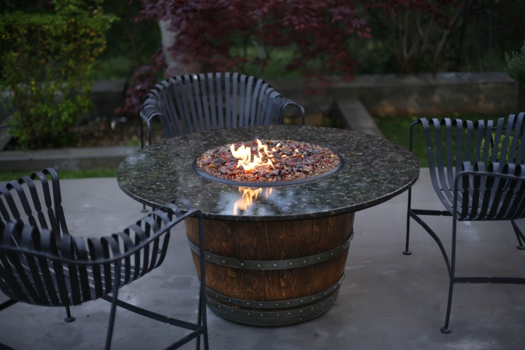 Wine Barrel Fire Pits Sonoma County Pits SHOP