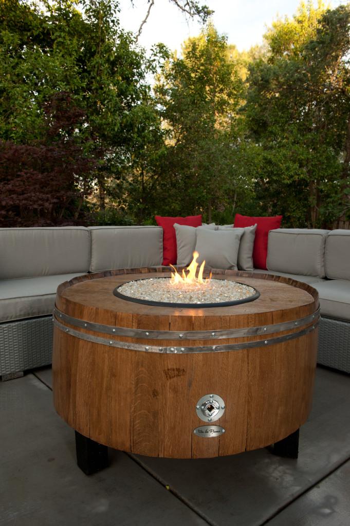 Wine Barrel Fire Pits Sonoma County Fire Pits Shop