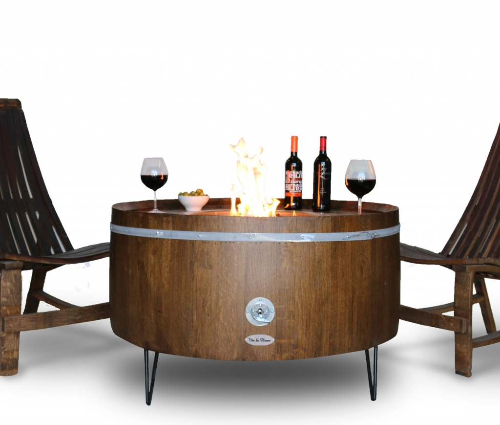 Wine Barrel Fire Pits Sonoma County Fire Pits The