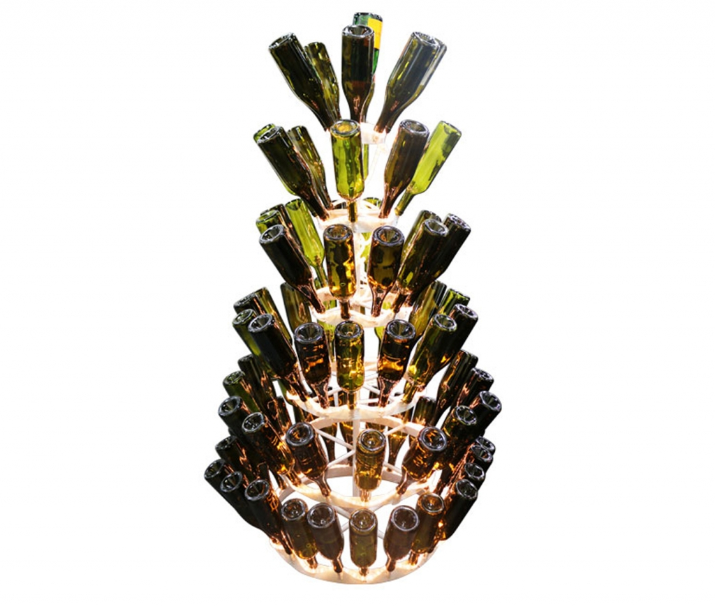 christmas bottle tree
