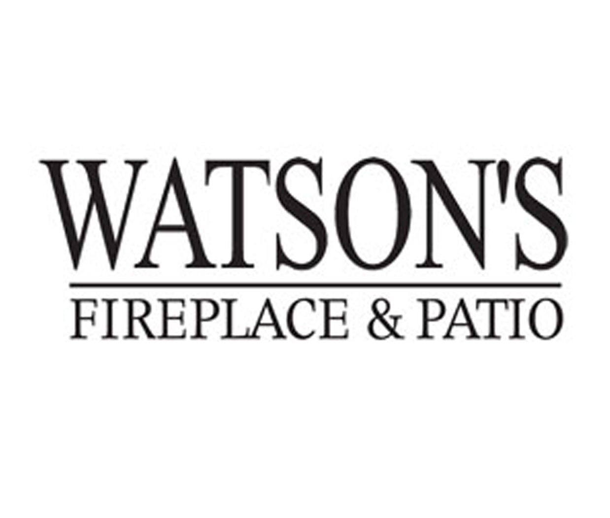 Watsons Fireplace and Patio